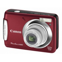 Фотоаппарат CANON PowerShot A480 red