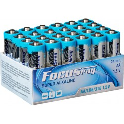 Элемент питания FOCUSRAY SUPER ALKALINE LR6/316 BOX24 (24 штуки)