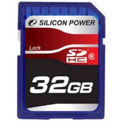 Флеш карта SDHC 32GB SILICON POWER class 6