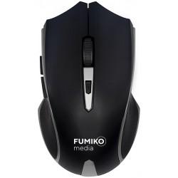 Мышь FUMIKO WM02 светло-серая