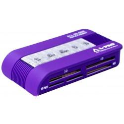 Картридер L-PRO 1147 фиолетовый