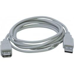 Удлинитель USB Aшт - Aгн 1.8м REXANT 18-1114