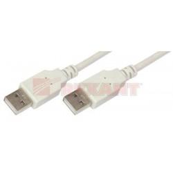 Шнур USB Am - Am 1.8м REXANT 18-1144