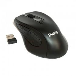 Мышь DIALOG MROP-02U USB черный