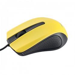 Мышь PERFEO PF_3443 RAINBOW черный/желтый