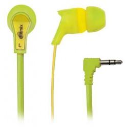 Наушники RITMIX RH 013 зеленый+желтый