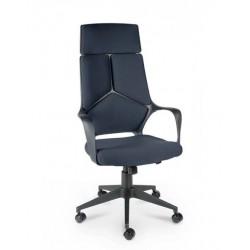 Кресло Айкью/IQ M-710 black pl-60 серый