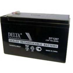 Аккумулятор 12V 7.0Ah DELTA DT 1207 151x65x102