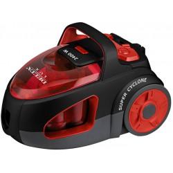 Пылесос DELTA LUX DL-0846 черный с красным