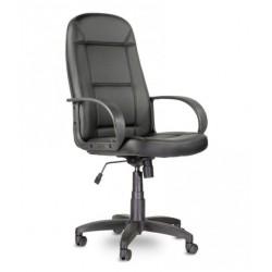 Кресло Идра Бюджет B пластик 727 S-0401 черная экокожа
