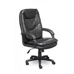 Кресло CH-686 ОРЕГОН В Пластик 727 Ср S-0401 черная экокожа