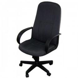 Кресло Альтаир В Пластик/727 PC2 черно-стальная ткань-ромб