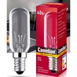 Лампа накаливания CAMELION E14 40W(350lm) 40/T25/CL/E14